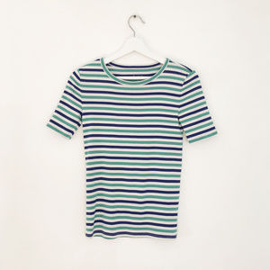 J.Crew perfect vintage fit striped tee XS S